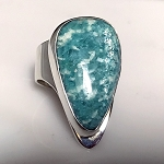 Modernist Amazonite Ring